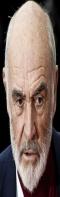 Sean Connery, strizzato in versione baguette, 60x197 pixel
