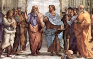 La Scuola di Atene, particolare