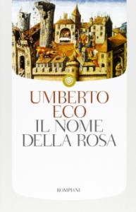 Il nome della rosa, di Umberto Eco, copertina